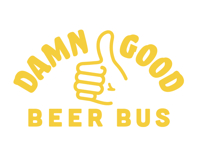 Damn Good Beer Bus Logo